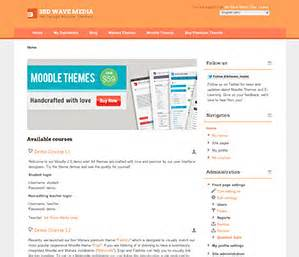moodle theme yui freebies elearning themes