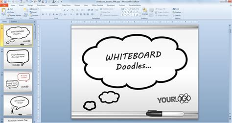 awesome presentation templates awesome whiteboard symbols powerpoint templates for