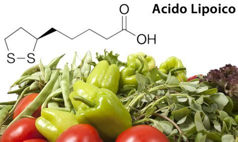 acido alfa lipoico alimenti acido lipoico acido alfa lipoico per dimagrire