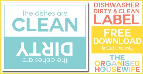 Vinegar In Dishwasher With Dishes Everything Is Clean And Sparkling The Organised Housewife