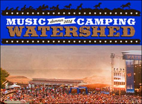 Water Shed Tickets by Watershed Festival Tickets Watershed Festival Concert