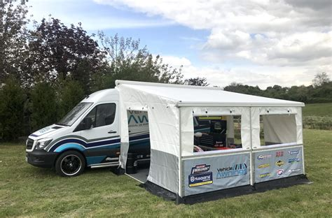 awning van vehicle awnings motorsport awnings commercial van