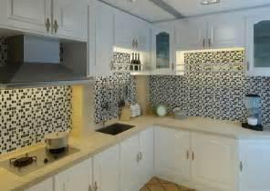 Discount Kitchen Backsplash Tile by Ice Glass Tiles For Kitchen Backsplash Black White