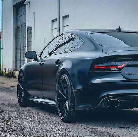 Audi Rs7 Black by All Black Rs7