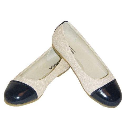 ivory navy blue patent toe flat toddler dress shoes