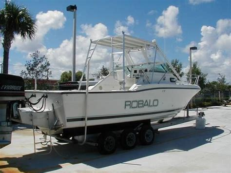 robalo boat with cabin robalo 26 6 1983 for sale for 4 390 boats from usa