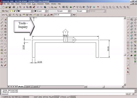 section moment of inertia moment of inertia by autocad youtube
