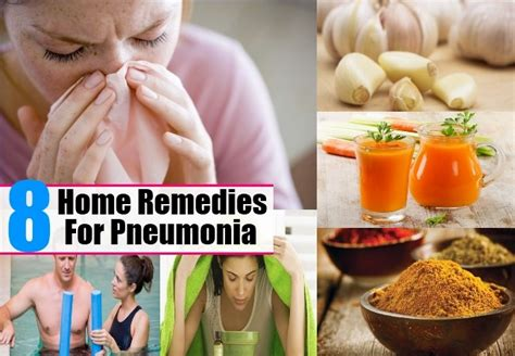 8 home remedies for pneumonia treatments