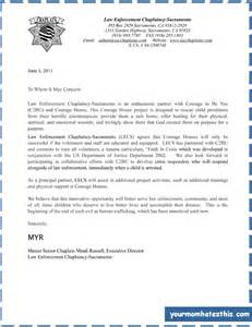 Cover Letter For Enforcement by Sle Cover Letter Enforcement Cover Letter Templates