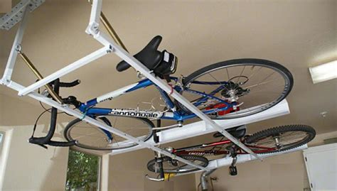 Garage Organization For Bikes Garage Organization Ideas Horizontal Bike Storage From
