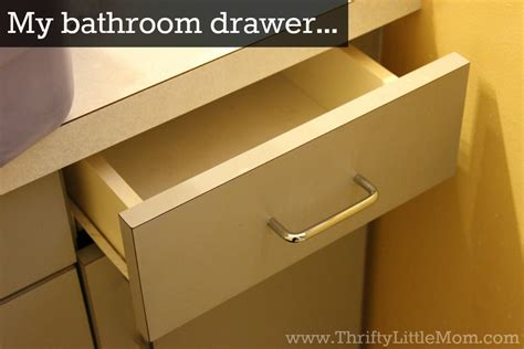 organize bathroom drawers quickly organize your bathroom drawers 187 thrifty little mom