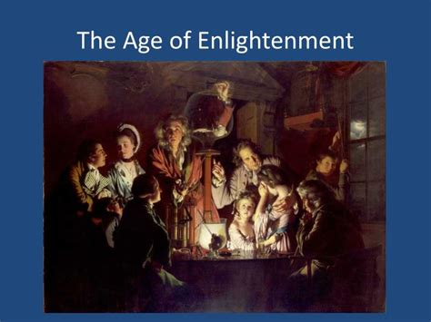 Age Of Enlightenment Ppt Religious Freedom Historical Perspectives