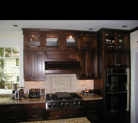 Distressed Kitchen Cabinet black walnut kitchen cabinets home furniture design