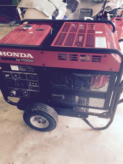 Honda Garage Hull by Honda Generator Eb11000 The Hull Boating And