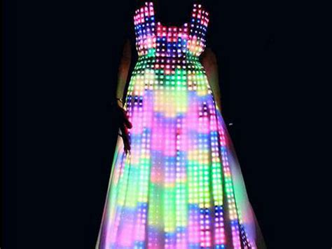 Things That Light Up by Mesmerizing Led Dress Things