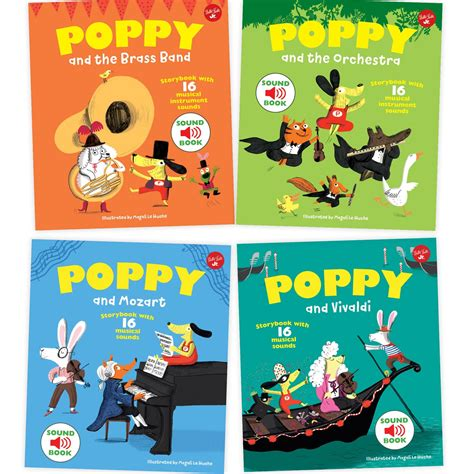 poppy and the orchestra poppy and the brass band with 16 musical