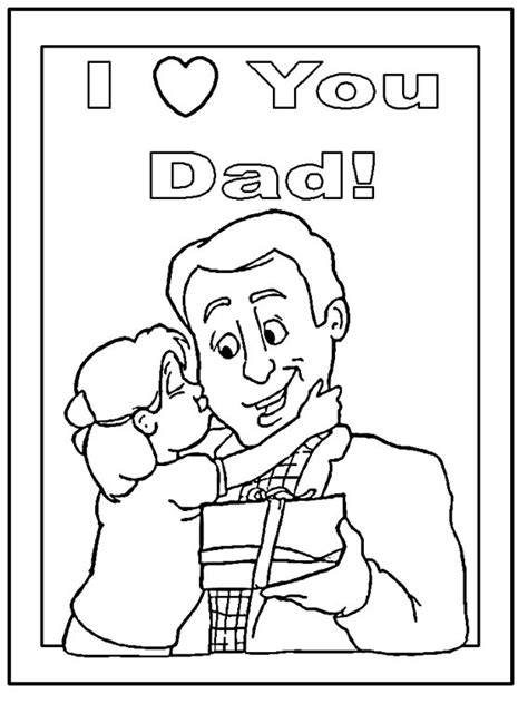 fathers day coloring pages for toddlers s day crafts all network
