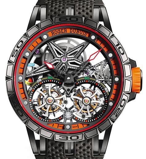 Roger Dubuis Excalibur World Time Silver roger dubuis excalibur spider flying tourbillon ablogtowatch