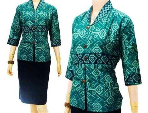 Dress Atasan Blouse Wanita Motif Batik Original Distro Srs 482 model blouse batik modern wanita lace henley blouse