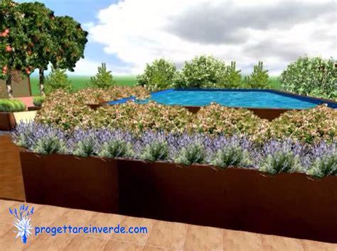 piante per terrazze terrazza condominio piscina piante
