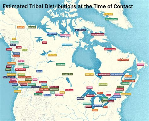 canadian map of indian tribes doc zone