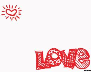 powerpoint templates love and friendship amor plantilla powerpoint con corazones plantillas