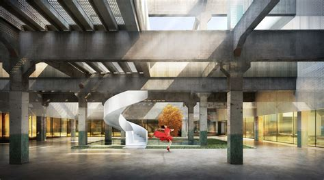Home Design Interiors Software tianhua to transform 97 year old chinese textile mill into