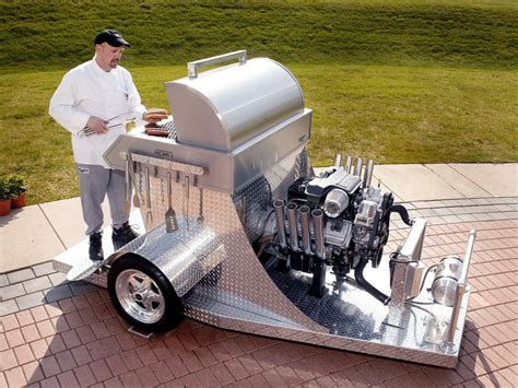 5 7 v8 hemi bbq grill this is how you bbq like a man