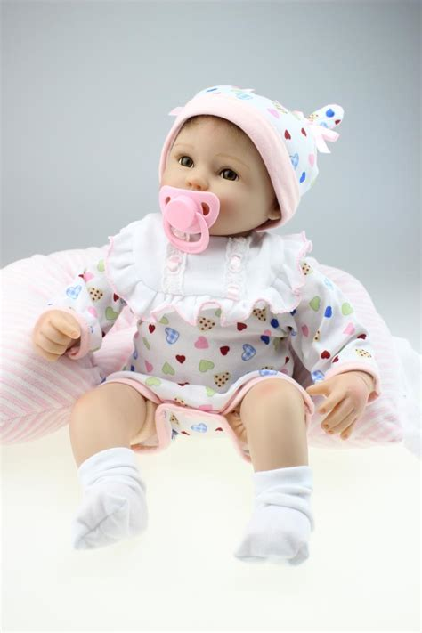 Pillow Doll by Pillow Pacifier Doll 45cm Lovely Like Real Baby Reborn