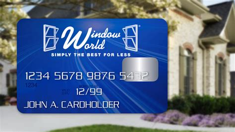 window world financing options window world of the triad