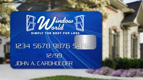 window world financing options window world of northwest la