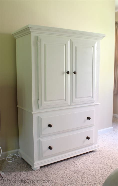 Bedroom Armoir by Armoire Makeover Master Bedroom Progress Report Erin