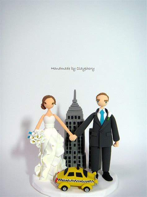 wedding cake toppers new york city new york city backdrop the customized