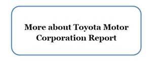 Toyota Business Strategy Analysis Toyota Corporate Social Responsibility Research Methodology