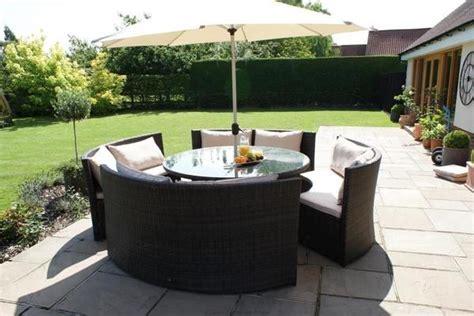 Runde Lounge Gartenmöbel by Gartenlounge Rattan Ambiznes