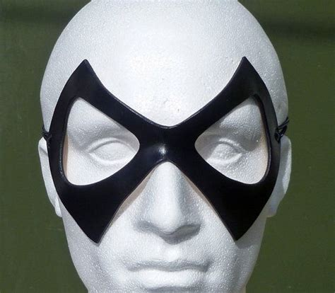 marvel black cat mask template ms marvel mask in leather designed crafted in
