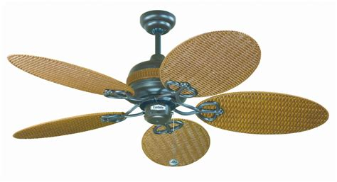 Wicker Ceiling Fans by Fantasia Wicker 48 Chocolate Brown Wicker Acrylic Blade