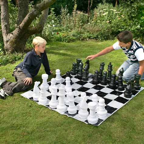 backyard chess set outdoor garden chess set by garden games summer cuckooland