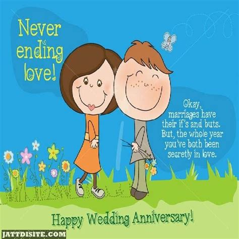 Wedding Wishes Ending by Never Ending Happy Wedding Anniversary Jattdisite