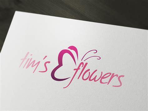 Flower Florist Logo Template Psd By Squizmo On Deviantart Logo Template Psd