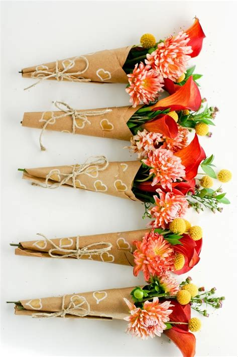 Gift Wrap Ideas For Baby Shower - 10 diy ways to wrap a flower bouquet for a gift shelterness