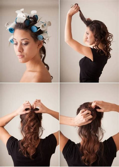 Vintage Bridal Hair Tutorial vintage diy bridal hair tutorial weddingomania