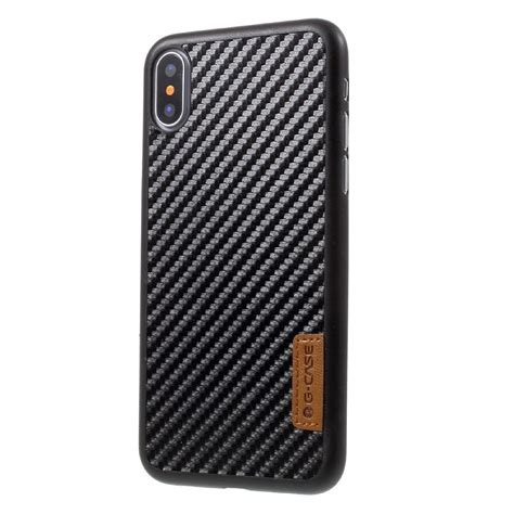 g iphone x g carbon fibre skal iphone x xs iphonebutiken se