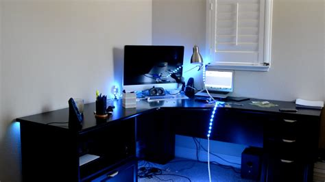 cool things to put on your desk make your decor look cool with led s youtube