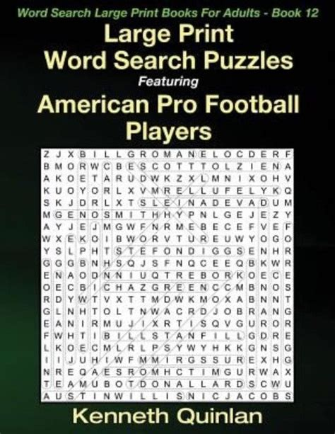 stuffers for gift word search puzzle book collection of large print word find puzzles for boys books new large print word search puzzles featuring american pro