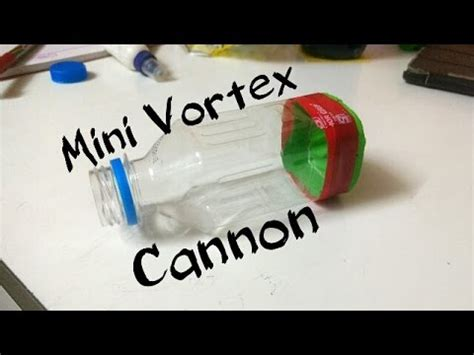 How To Make A Mini Cannon Out Of Paper - how to make mini vortex cannon diy