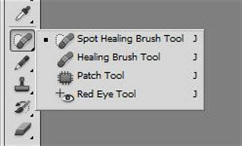 photoshop cs5 red eye tool tutorial healing brush tool patch tool and red eye tool in