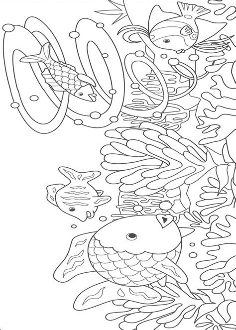 underwater world coloring pages for kids