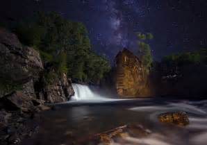 Pictures Of Landscape Lighting - crystal mill and the milky way a colorado icon 2 minute