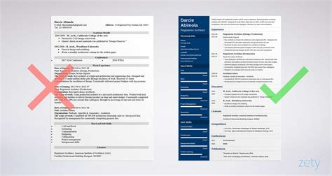 Architecture Resumes by Architecture Resume Sle And Complete Guide 20 Exles
